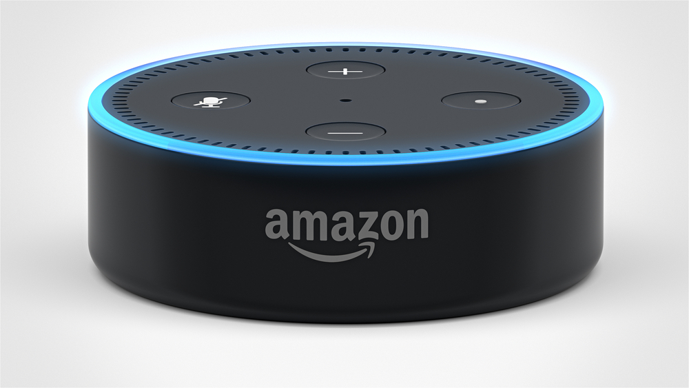 Amazon Echo Dot 2, Alexa Voice Service activated recognition system